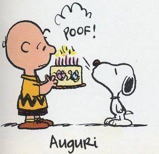 Auguri da Snoopy