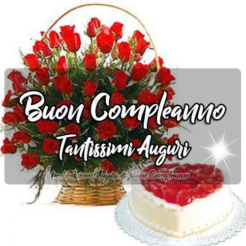 Buon Compleanno Tantissimi Auguri