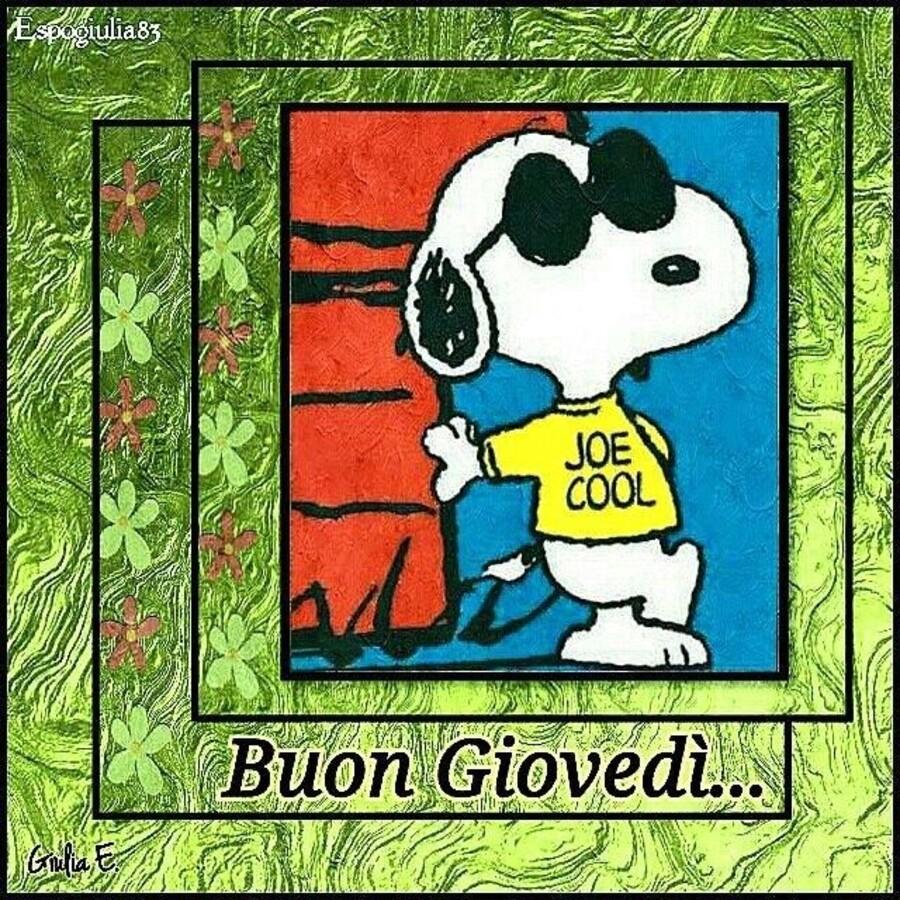 Buon Giovedì... - Snoopy