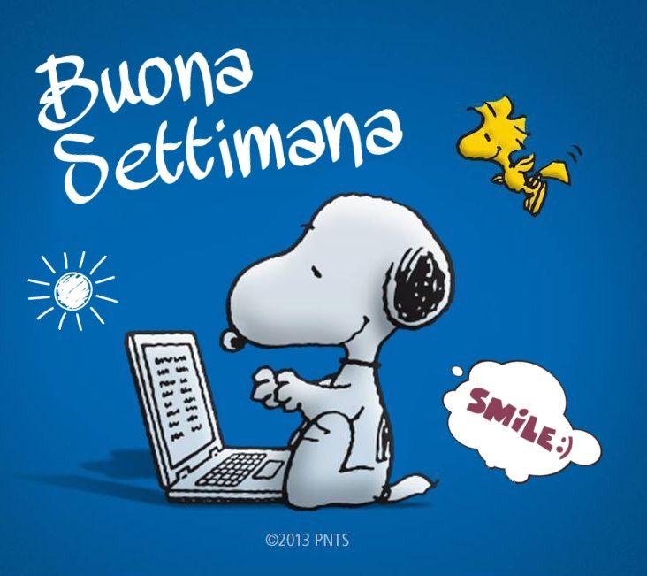 Buona Settimana da Snoopy