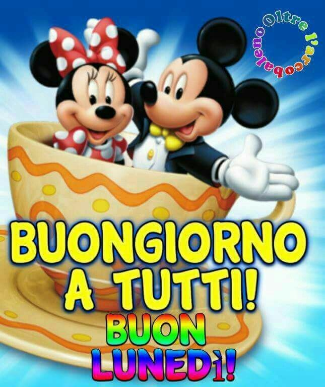 Buongiorno a tutti! - immagini Disney