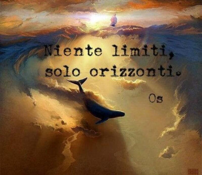 Niente limiti, solo orizzonti.