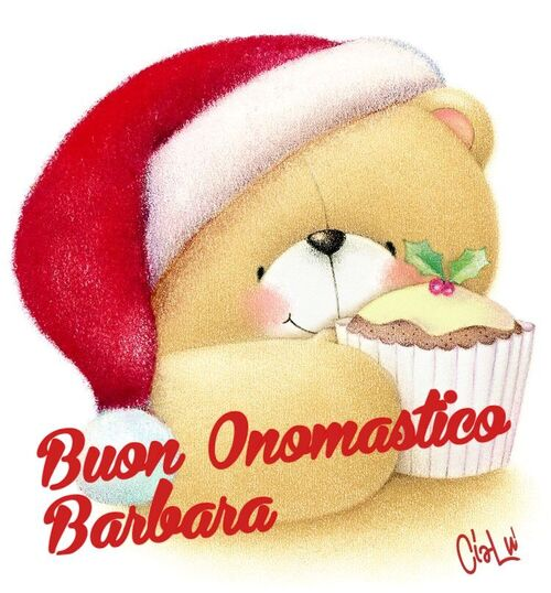 """""""Buon Onomastico Barbara"""""""
