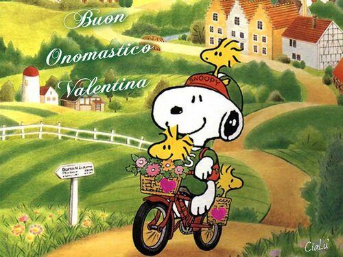 """Buon Onomastico Valentina"""