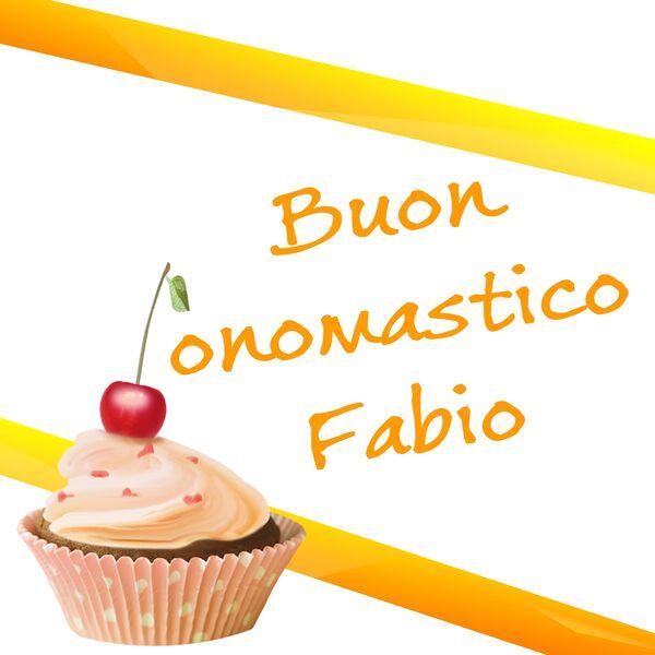 "Link gratis - ""Buon Onomastico Fabio"""