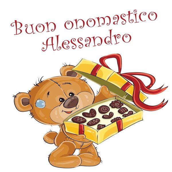 """Buon Onomastico Alessandro"""