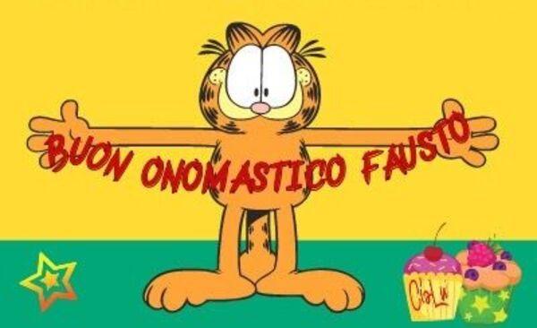 """""""Buon Onomastico Fausto"""""""