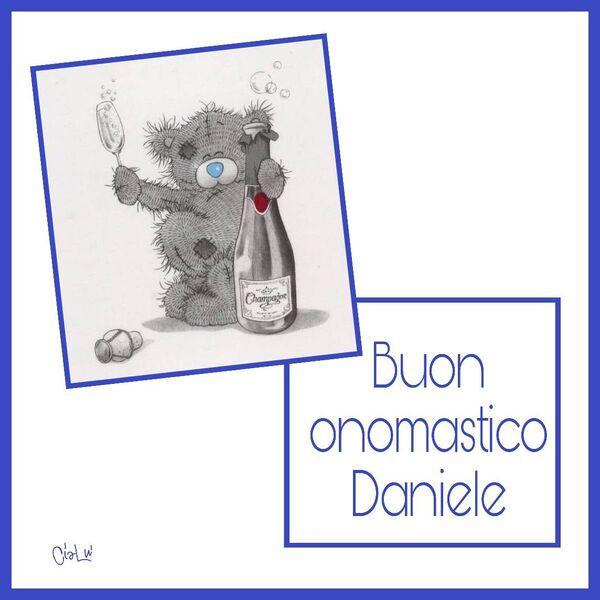 """""""x Daniele, Buon Onomastico"""""""