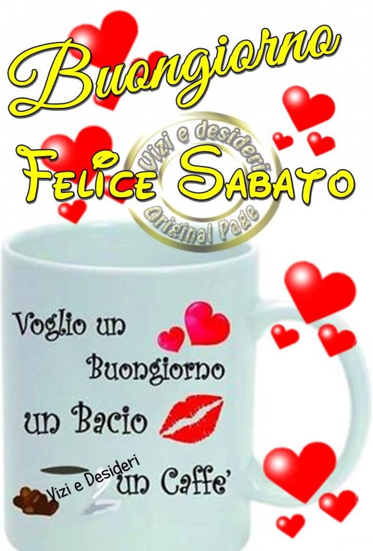 """""""Voglio un buongiorno, un bacio e un caffè....."""""""