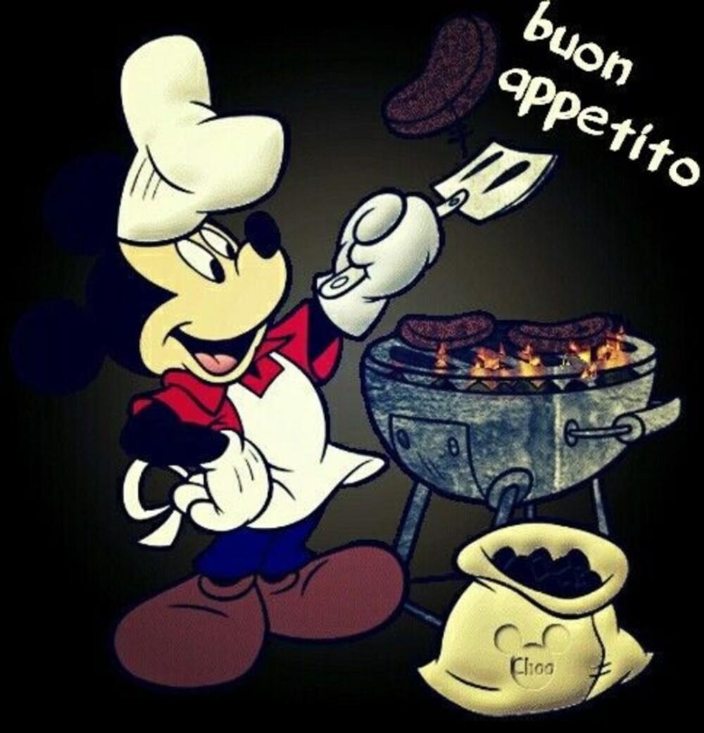"""Da Topolino: """"Buon Appetito"""""""