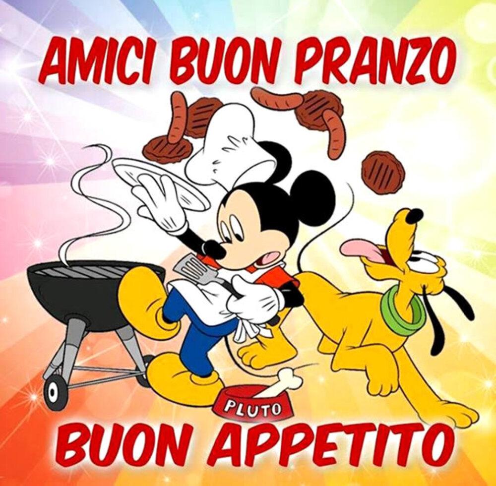 """""""Amici Buon Pranzo....."""" - immagini Disney"""