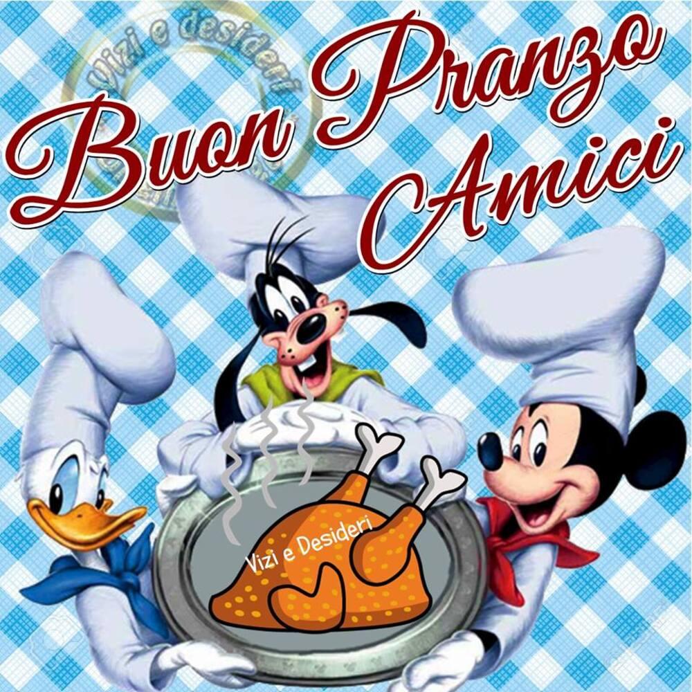 """""""Buon Pranzo Amici"""" - immagini Disney"""