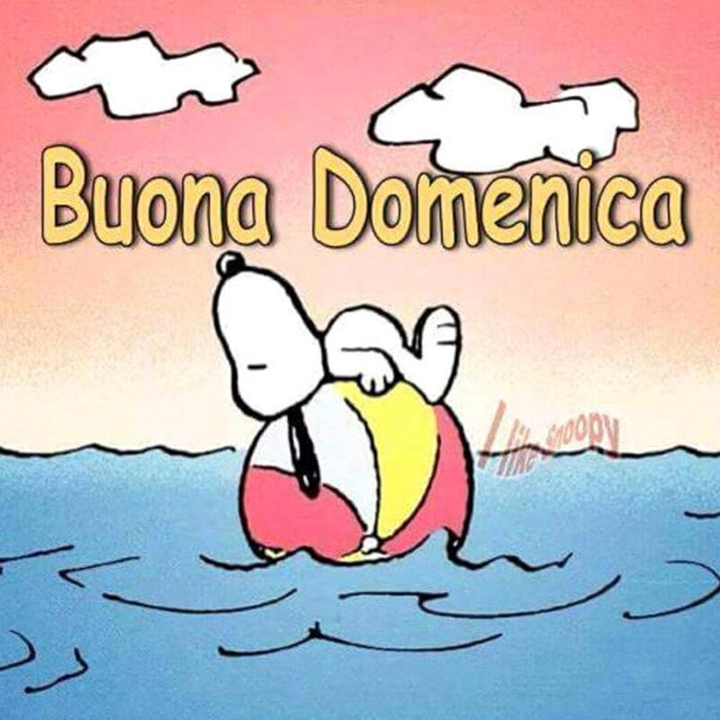 Buona Domenica - I Like Snoopy