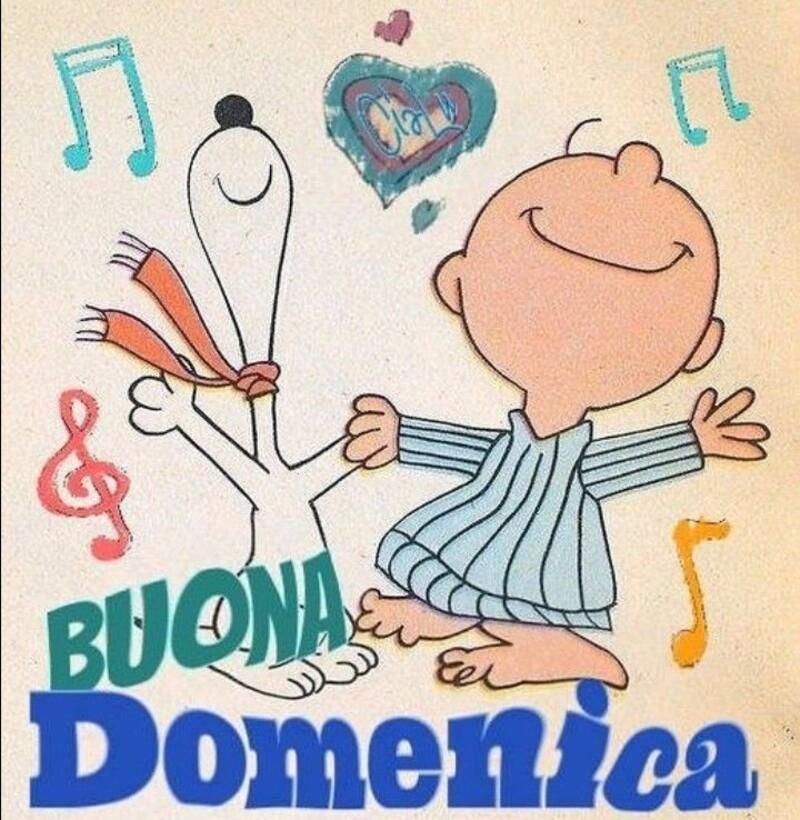 Buona Domenica - Snoopy
