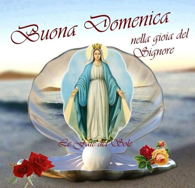 Buona Domenica nella gioia del Signore - immagini religiose