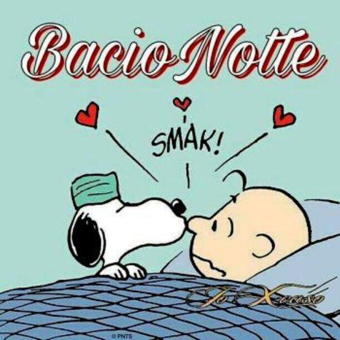 """""""Bacio Notte Smack!"""""""