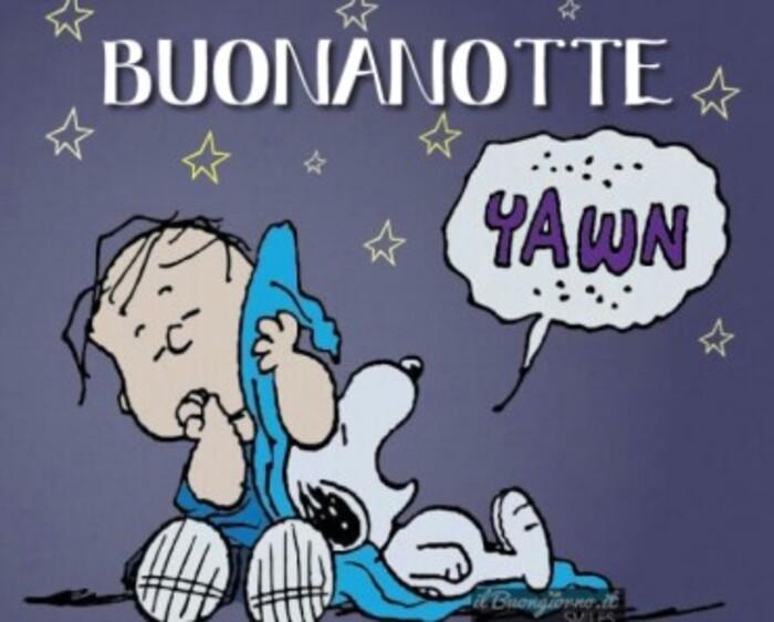Buonanotte con Snoopy
