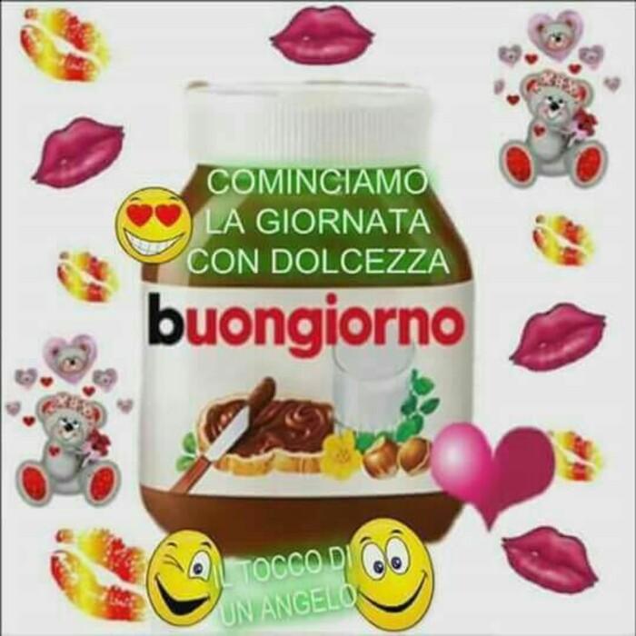 Buongiorno Con La Nutella 10 Immagini Dolci Da Mandare Bgiorno It