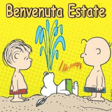 "I Like Snoopy - ""Benvenuta Estate"""