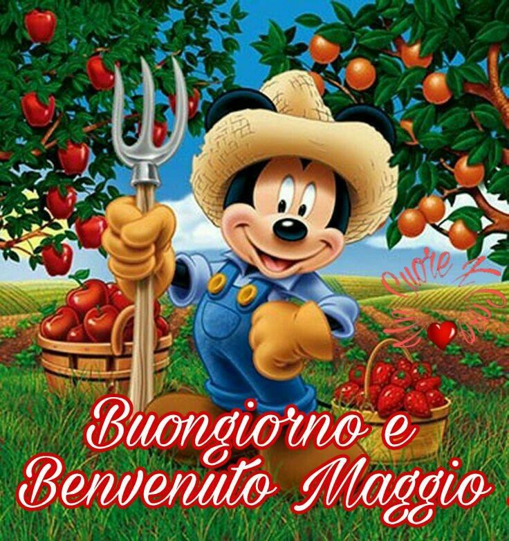 """""""Buongiorno e Benvenuto Maggio"""""""