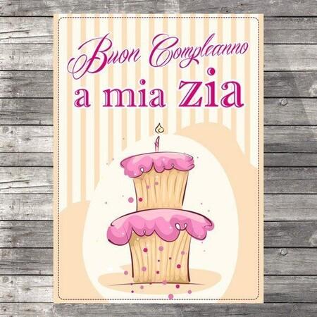 """""""Buon Compleanno a Mia Zia"""""""