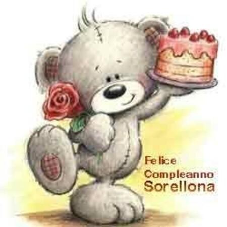 """""""Felice Compleanno Sorellona"""""""