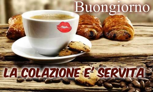 """""""Buongiorno, caffè e cornetto !"""""""