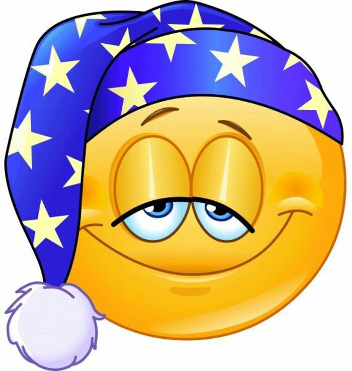 """""""Che stanchezza!"""" - Smiley Buonanotte"""