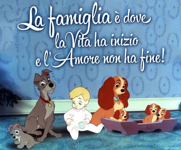 """""""La Famiglia è dove la Vita ha inizio e la'Amore non ha fine!"""""""