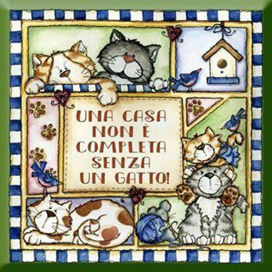 """""""Una casa non è completa senza un gatto."""" - Frasi belle sui gatti"""
