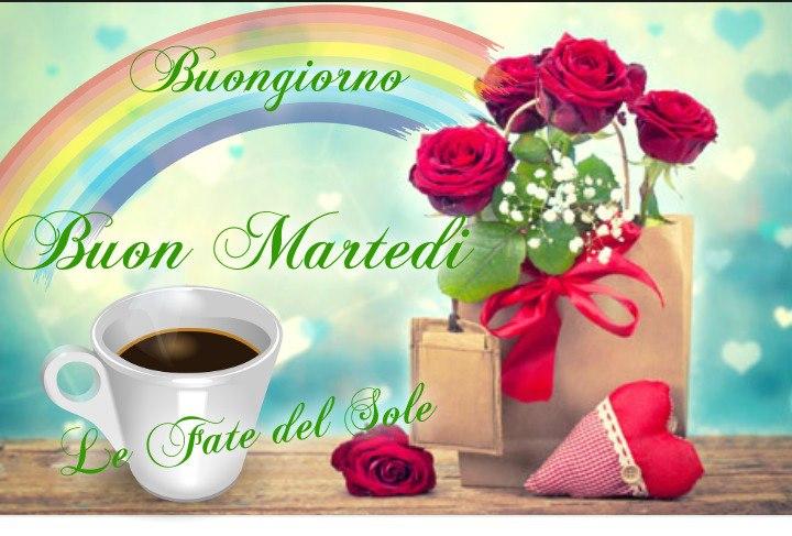 """Le Fate del Sole - """"Buongiorno Buon Martedì arcobaleno"""""""
