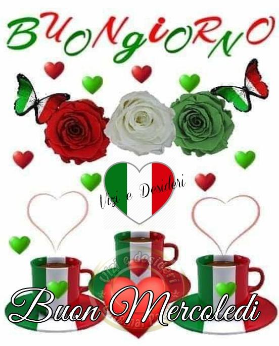 """""""Buongiorno e Buon Mercoledì Italia"""""""