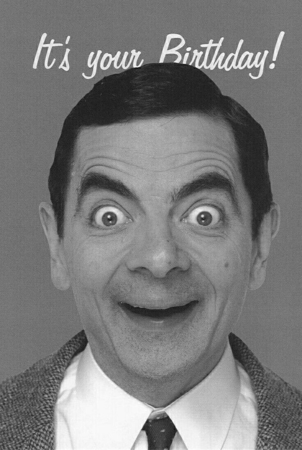 "Mr. Bean - ""It's Your Birthday !"""