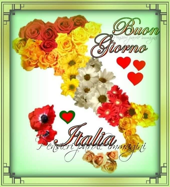 """Immagini da condividere gratis - """"Buon Giorno Italia"""""""