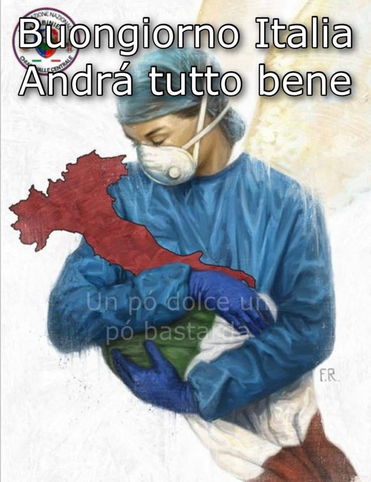 """""""Buongiorno Italia, Andrà tutto bene"""""""
