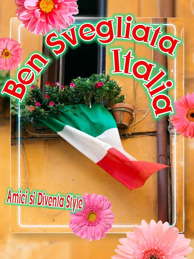 """Ben Svegliata Italia"""