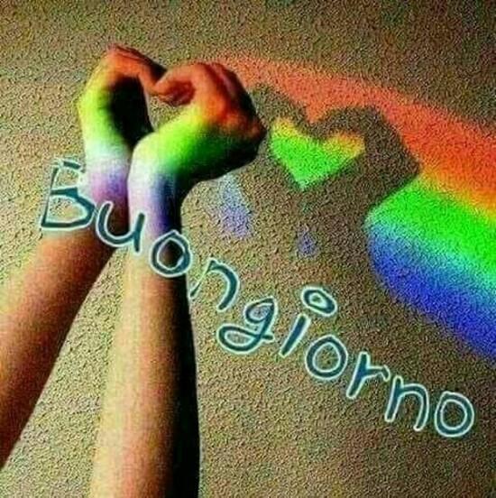 """""""Buongiorno arcobaleno"""""""