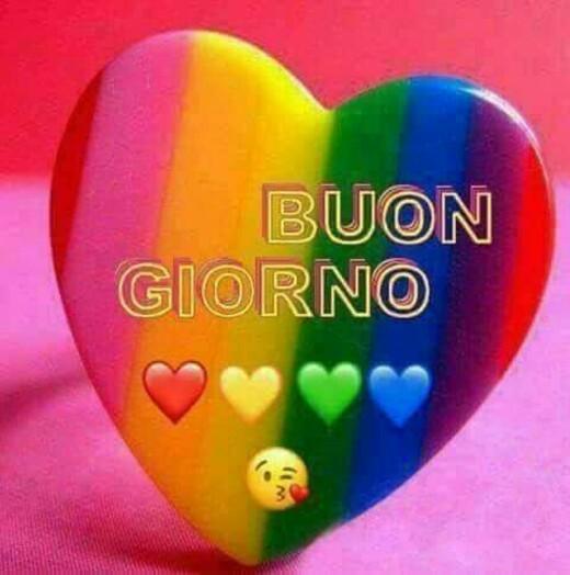 """""""Buon Giorno"""" - immagini con i colori dell'arcobaleno"""