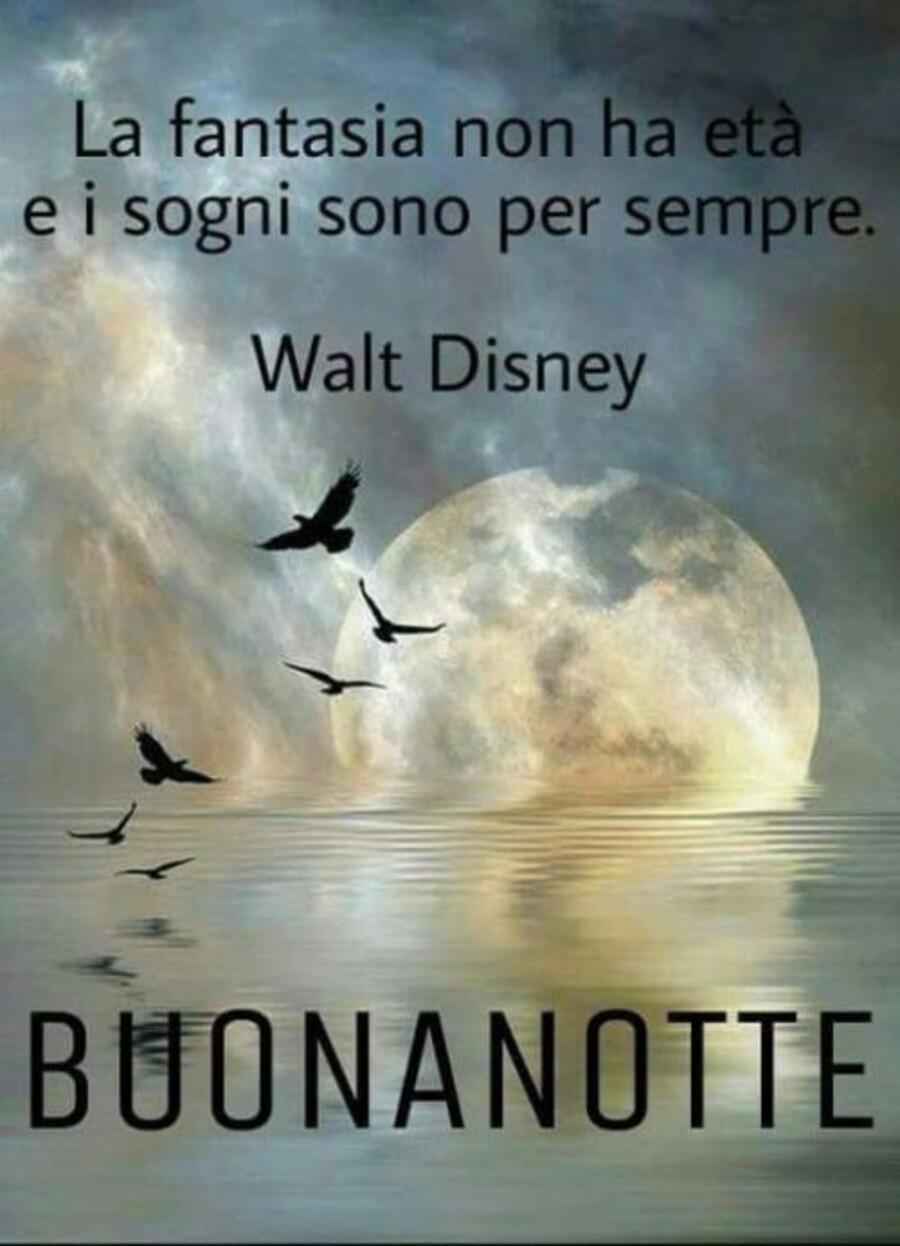 """""""La fantasia non ha età e i sogni sono per sempre. (Walt Disney)"""" - BUONANOTTE"""