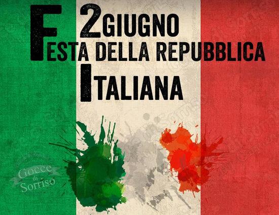 """""""2 Giugno. festa della Repubblica Italiana"""""""