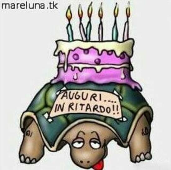 Buon Compleanno in ritardo