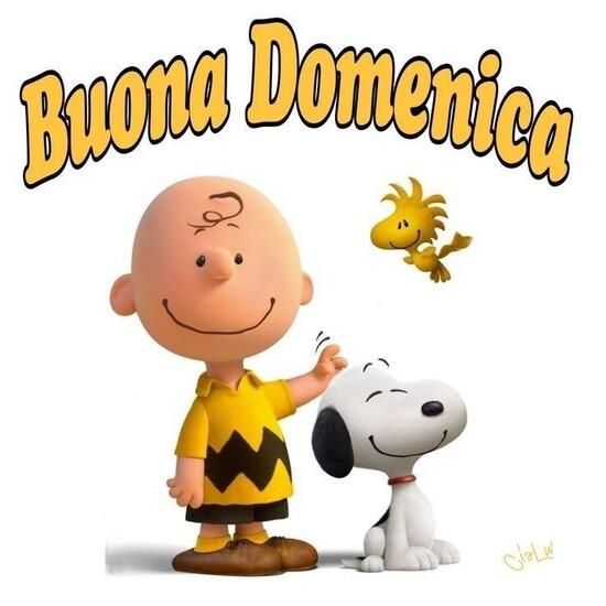 Buon Giorno e Serena Domenica Peanuts