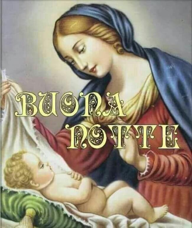 """""""BUONA NOTTE"""" - immagini religiose"""