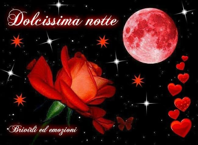 """""""Dolcissima Notte"""" - Buonanotte immagini romantiche"""