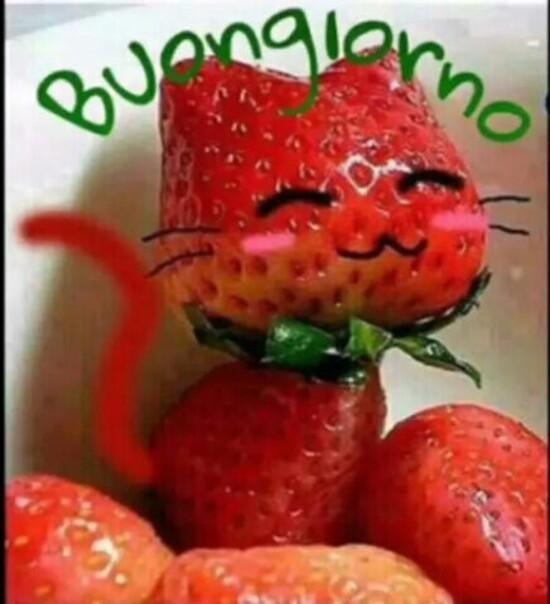 Immagini di Buongiorno con la frutta