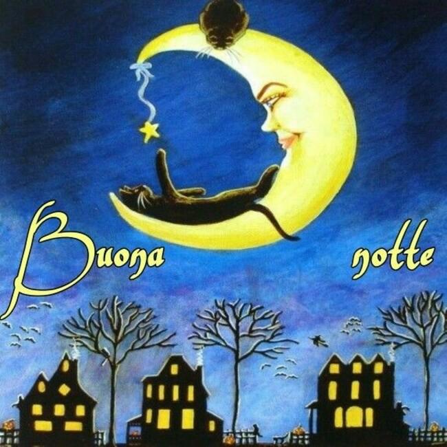 Buonanotte con la Luna
