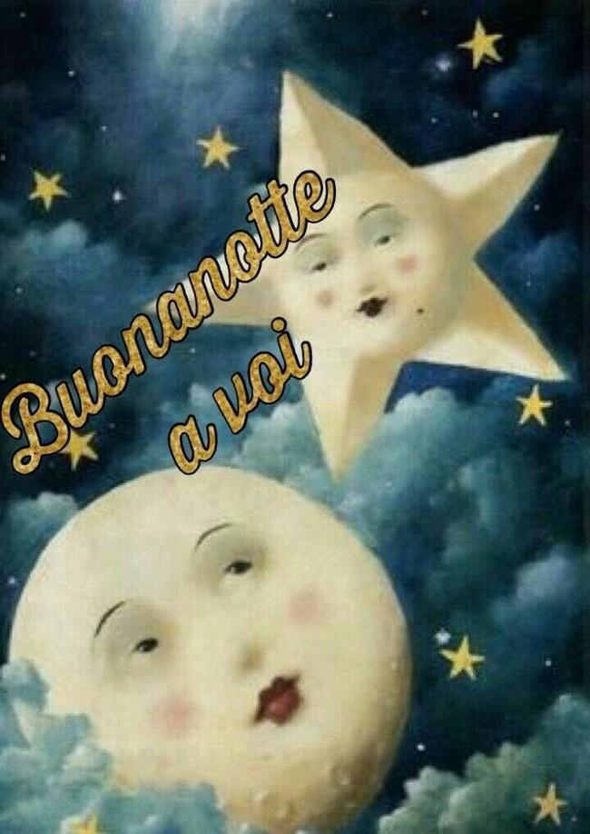"Bellissime immagini per Facebook - ""Buonanotte a voi"""