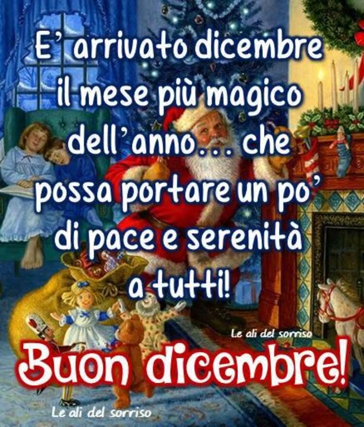 """""""E' arrivato Dicembre il mese più magico dell'anno... che possa portare un pò di pace e serenità a tutti! Buon Dicembre!"""""""
