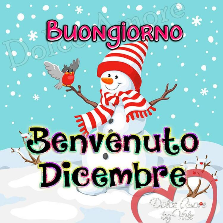 """""""Buongiorno e Buon 1° Dicembre"""""""