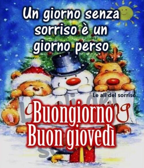 """Buon Giovedì Natale - """"Un giorno senza sorriso è un giorno perso....."""""""